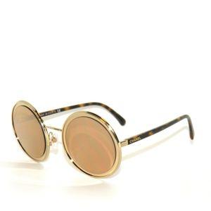 Chanel 4226 395/T6 Pale Gold 18k Mirror Sunglasses